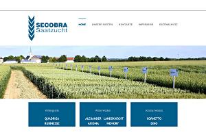 Screenshot Secobra Saatzucht