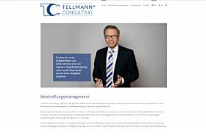 Screenshot Tellmann Consulting