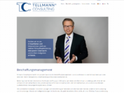 Screenshot Tellmann Consulting