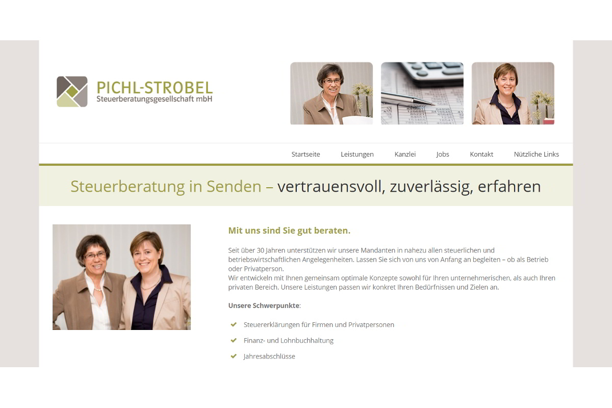 Screenshot stb-pichl.de